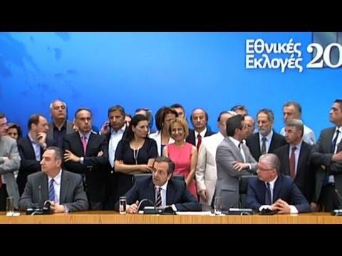 image vidéo Grèce: victoire de la droite aux législatives
