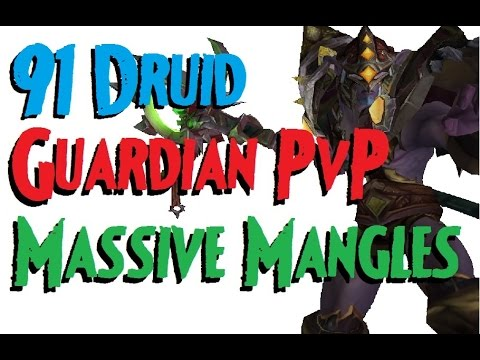 Asterial - Level 91 Guardian Druid Twink Pvp - Wod Patch 6.0.3 video