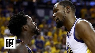 I have no idea why Kevin Durant is 'punching down' on Patrick Beverley - Charles Barkley | Get Up!