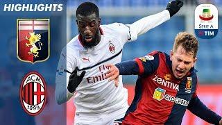 Genoa 0-2 Milan | Borini And Suso Seal Crucial Win for The Rossoneri | Serie A