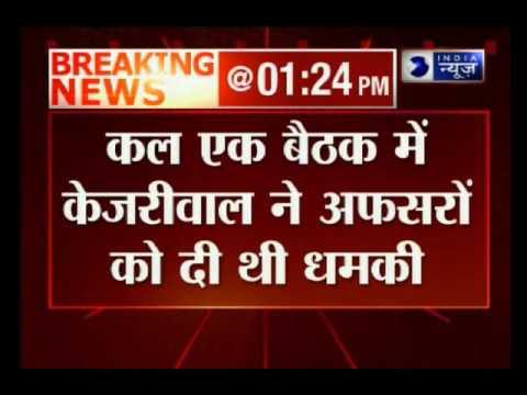 Prakash Javadekar advices Kejriwal to keep calm
