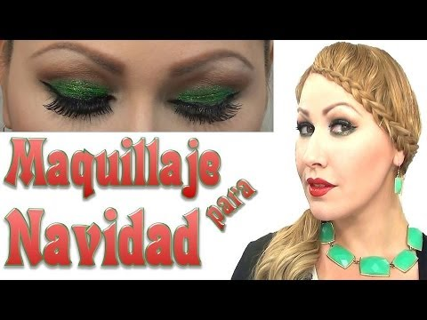 MAQUILLAJE para navidad   HOLIDAY  Makeup Tutorial