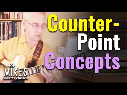 Jazz Guitar Counterpoint Concepts - The Simple Way | Lesson With Sid Jacobs