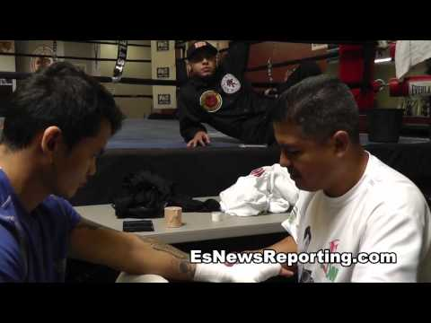 robert garcia working hard - EsNews Boxing