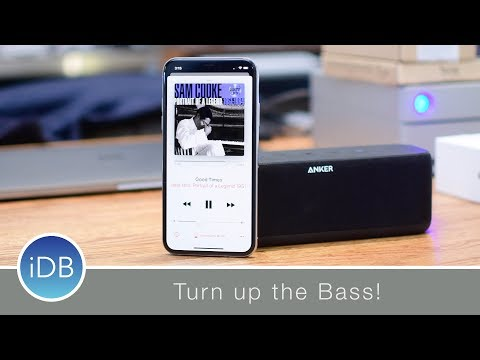 Anker SoundCore Boost Portable Speaker Turns up the Bass