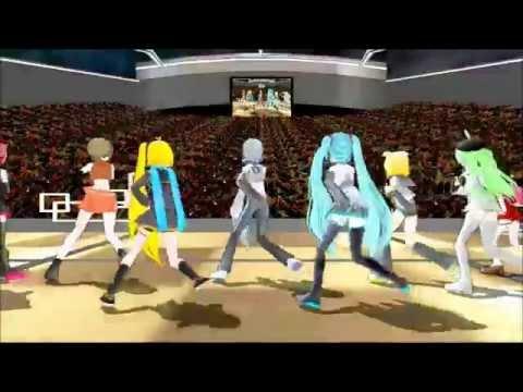(mmd) Kara - Mister (korean Version) - Vocaloids Sing K-pop (korean Pop And Dance Choreagraphy) video