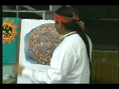 Calendario Azteca ( Maya ) 001