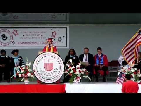 Salutatorian Speech, Wilbur Cross High School Graduation 2014