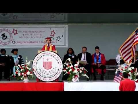 Salutatorian Speech, Wilbur Cross High School Graduation 2014