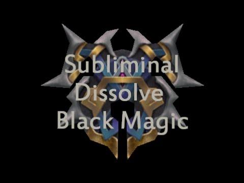 DISSOLVE BLACK MAGIC POWERFUL SUBLIMINAL