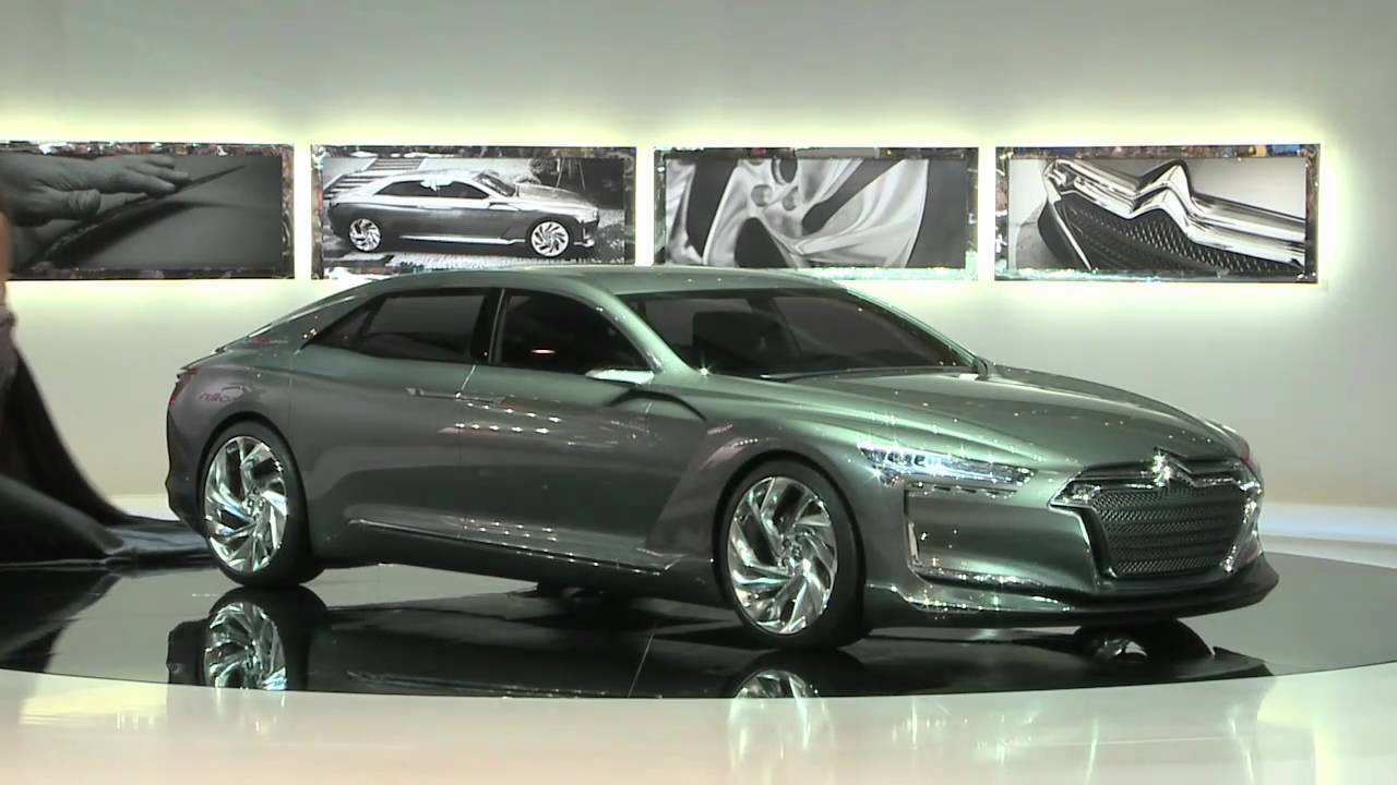 Citroen Metropolis Ds9 At Geneva 2011 Youtube
