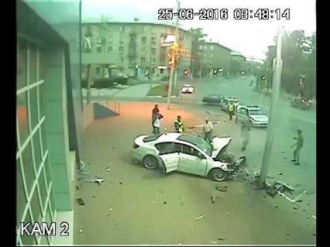 ДТП на ул. Дзержинского Рязань 25,06,2016