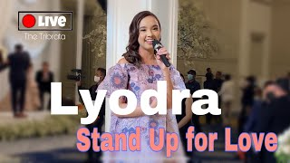 Download lagu Lyodra - Stand Up for Love ( performance at The Tribrata ) #felitogether