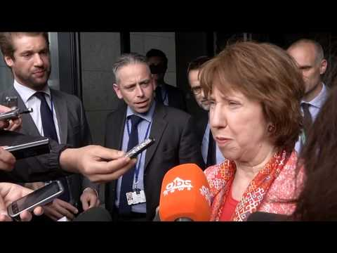 Catherine Ashton statement after the EU Facilitated Dialogue