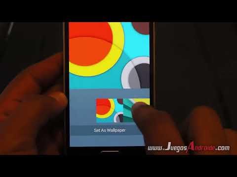 Descargar el Teclado, la Cámara y el Messenger de Android  Lollipop
