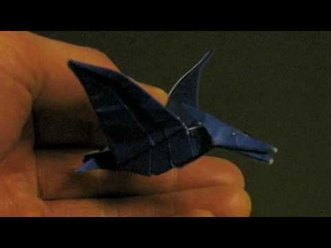 Origami Pteranodon Video