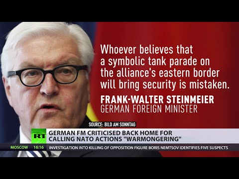 German FM criticized back home for calling NATO actions 'warmongering'