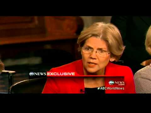Mikulski, Senate Women Interview with Diane Sawyer on ABC World News Tonight - Part 1