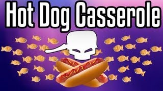 Hotdog Casserole - Epic Meal Time