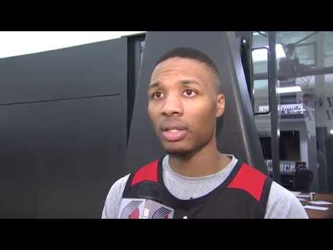 Practice Sound: Lillard On Competing Against 'Crafty' Kyrie Irving