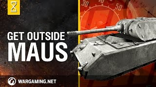 World of Tanks Outside the Chieftains Hatch Maus