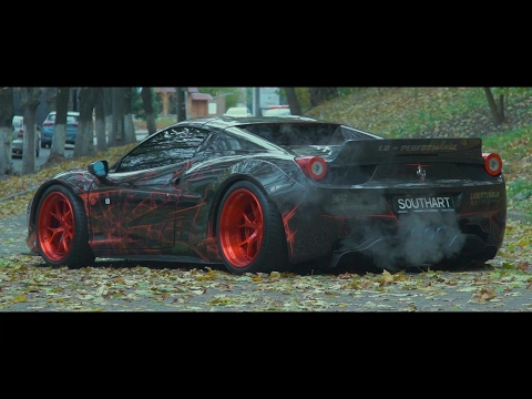 Ferrari 458 Liberty Walk   Armytrix Titanium Exhaust   Ukraine   Lushyn Films