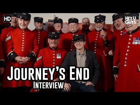 Asa Butterfield - Journey's End Fan Screening Interview