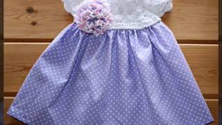 very easy and stylish baby girl cotton frocks 2019