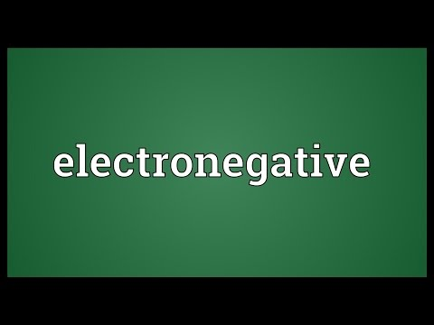 Header of electronegative