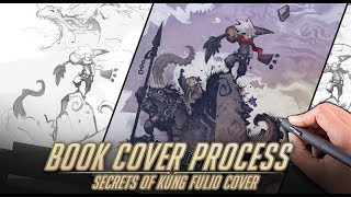 Stuck on composition? Cover illustration tips from Secrets of Kung Fulio!