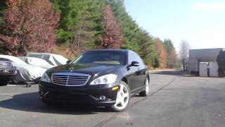 Armored Mercedes Benz S550