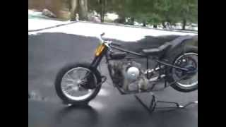 1924 Indian Hillclimb Antique Motorcycle Racer