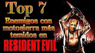 Top 7: Enemigos con motosierra más temidos de Resident Evil