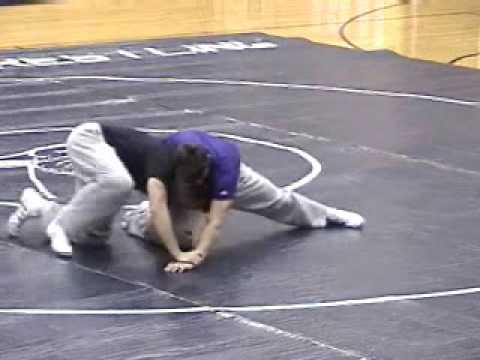 Jake Herbert Wrestling Technique - Leg Finishes Image 1