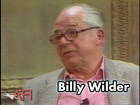 Billy Wilder: A Director Must Know How To Read
