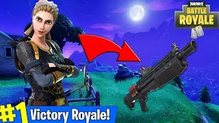 "NEW ""HEAVY SHOTGUN"" UPDATE + NEW SKINS! (AMAZING FORTNITE PLAYER)"