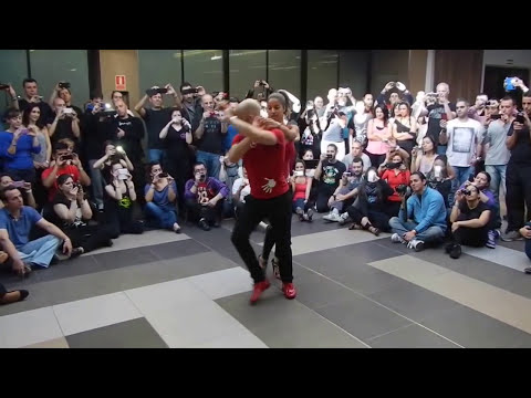 ATACA y LA ALEMANA - workshop (2/3) - Bachata con sentimiento - Figura bailada completa