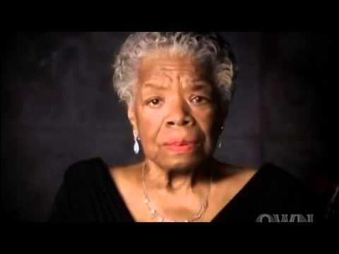 Dr. Maya Angelou - Power Of Words