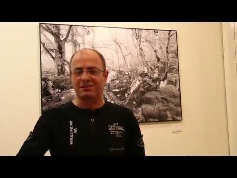 Benito Canteroren argazki erakusketa. 2014 azaroa