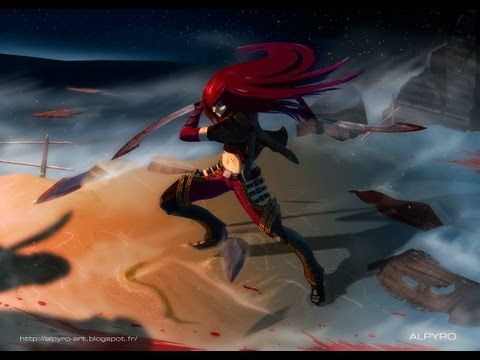 League Of Legends - Katarina '[The Sinister Blade 3DAMV]'