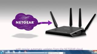 NETGEAR Nighthawk X4 Smart WiFi Router (R7500) with Dynamic QoS Demonstration