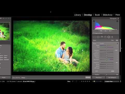 Selective Focus Trick in Adobe Lightroom