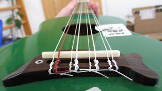Make an 8-String Ukulele from a Cheap Makala Dolphin