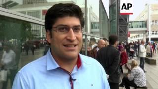 VW news - Car fans at Frankfurt show react | Editor's Pick | 22 Sept 15