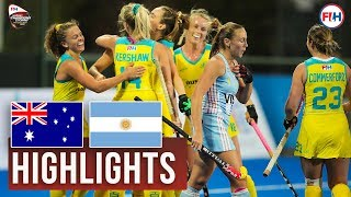 Australia v Argentina | 2018 Women's Champions Trophy | HIGHLIGHTS