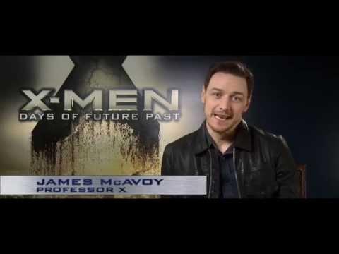 James McAvoy zur X-Men X-Perience! #XMenLive