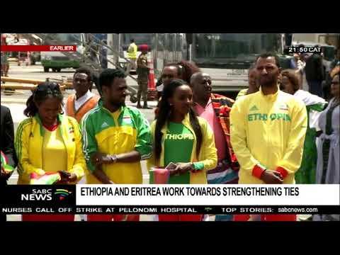 Eritrea delegation arrives in Ethiopia thumbnail