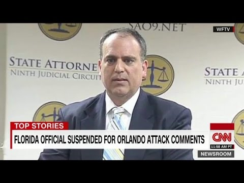 Florida prosecutor suspended after Facebook rant