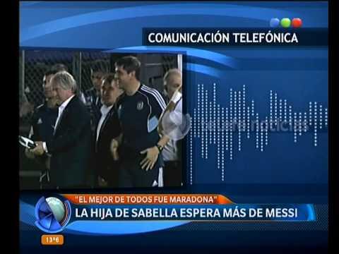 La hija de Sabella contra Messi - Telefe Noticias