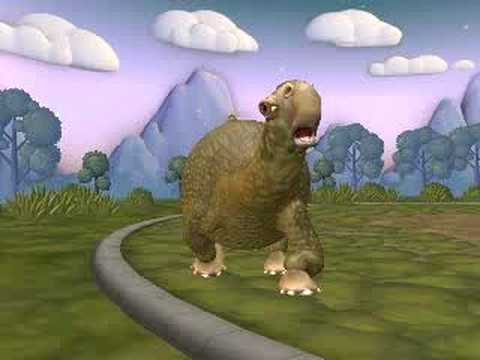 Spore Diplodocus Video